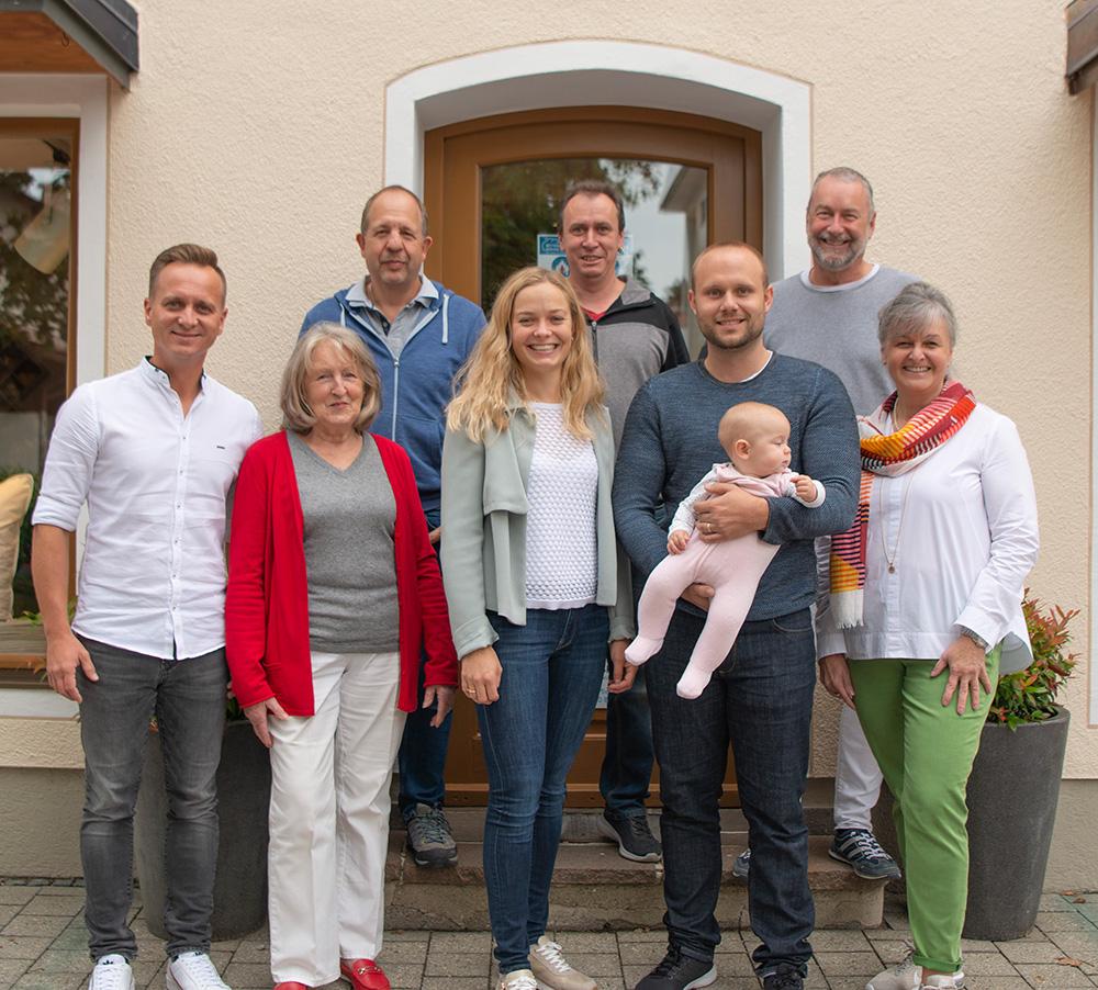 Bettenhaus Berner Team Familienbetrieb mit Herz