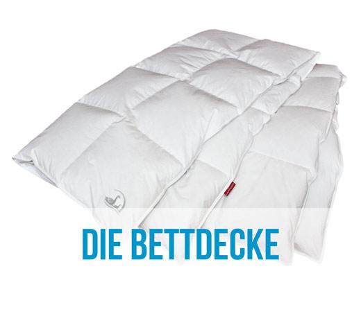 grosse auswahl an Bettdecken bei Bettenhaus Berner