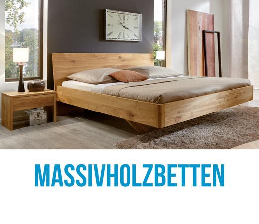 Vollholzbetten und Holzbetten bei Bettenhaus Berner in allen Größen