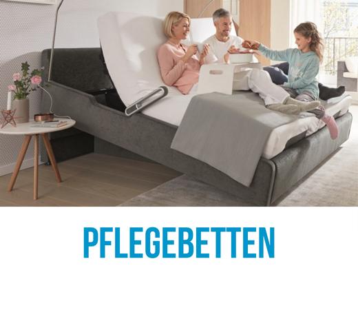 pflegebetten für das schlafzimmer in schönem Design