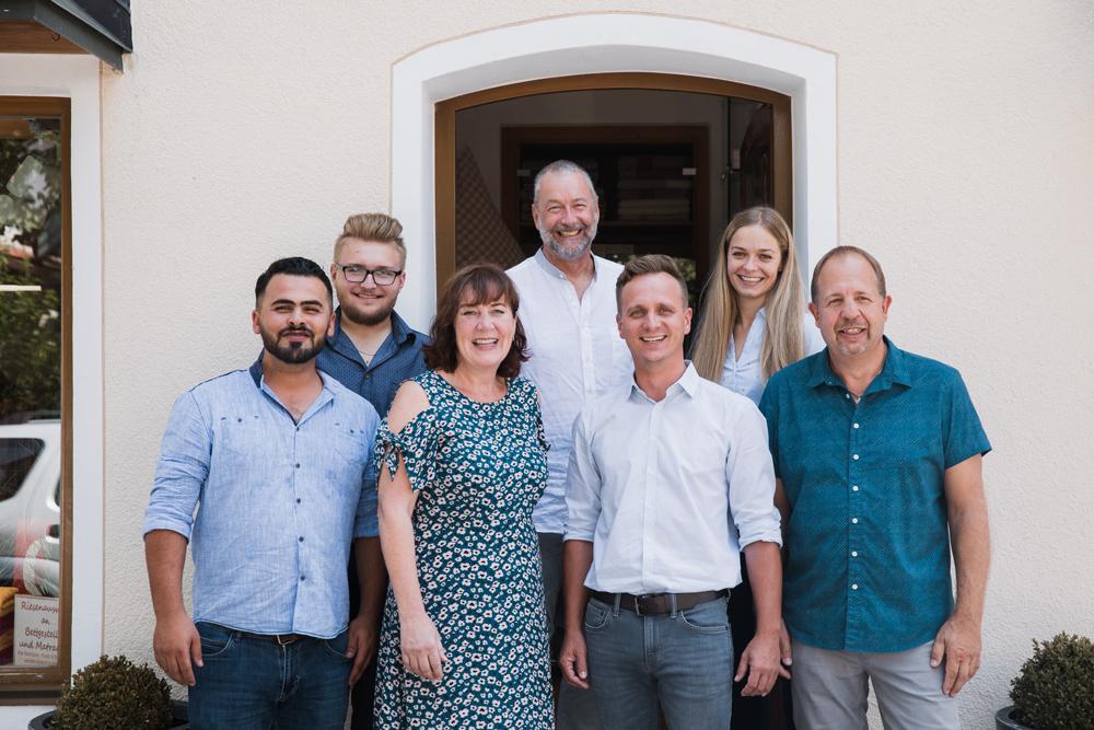 team von Bettenhaus Berner für gute Beratung